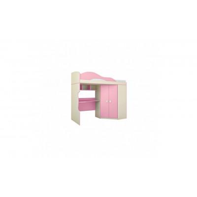 Кровать-шкаф Радуга Фламинго