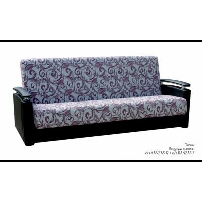 """Диван-кровать """"Вега"""", ткань """"Бодрум сирень"""" от производителя Браво Мебель"""