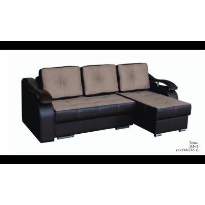 Диван-кровать угловой Милан SUN 3 от производителя Браво Мебель