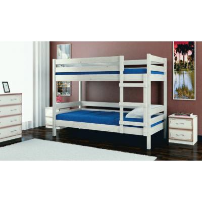 """Кровать двухъярусная """"Джуниор"""" белый античный"""