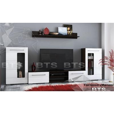 Модульная гостиная Милан дуб венге от производителя BTS мебель