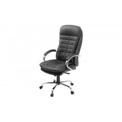 Кресло для руководителя Пилот Люкс черный