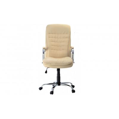 Кресло для руководителя Пилот Люкс кремовый
