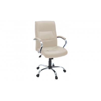 Кресло для руководителя Стинг кремовый
