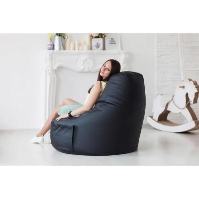 """Кресло """"Комфорт"""", black от производителя Pufikoff"""