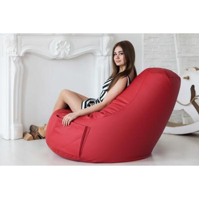 """Кресло """"Комфорт"""",red от производителя Pufikoff"""