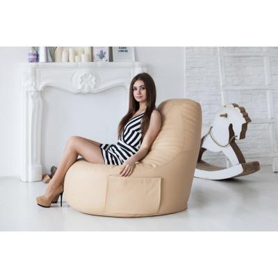 """Кресло """"Комфорт"""", cream от производителя Pufikoff"""