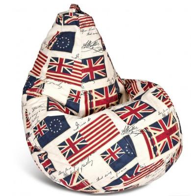 """Кресло-мешок """"Флаг"""" Размер-XXL от производителя"""