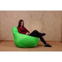 """Кресло-мешок """"Зеленое яблоко"""" Размер-L"""
