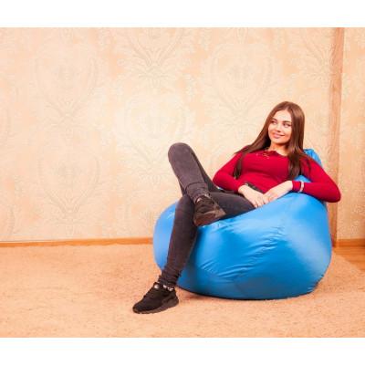 """Кресло-мешок """"Небесный голубой"""" Размер-XXL от производителя"""