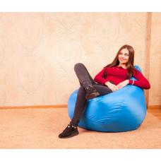 """Кресло-мешок """"Небесно-голубой"""" Размер-L"""