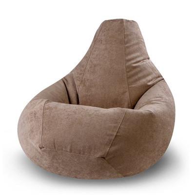 """Кресло-мешок """"Вельвет brown"""" Размер-XXL от производителя"""