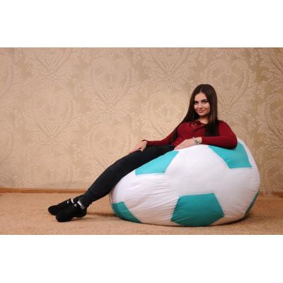 Кресло-мяч (белый/мятный) от производителя