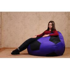Кресло-мяч (фиолет/черный)