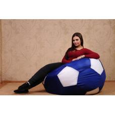 Кресло-мяч (темный василек/белый)