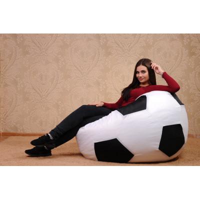 Кресло-мяч (белый/черный) от производителя