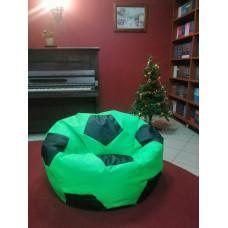 Кресло-мяч (Салатовый/черный)