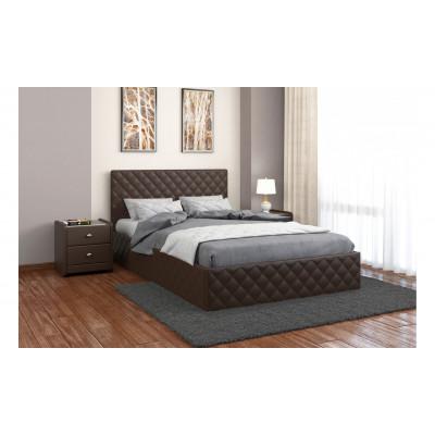 """Кровать с мягким изголовьем """"Рондо"""""""