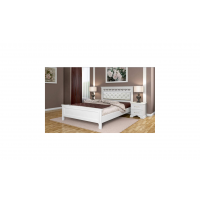 """Кровать """"Грация"""" античный белый"""