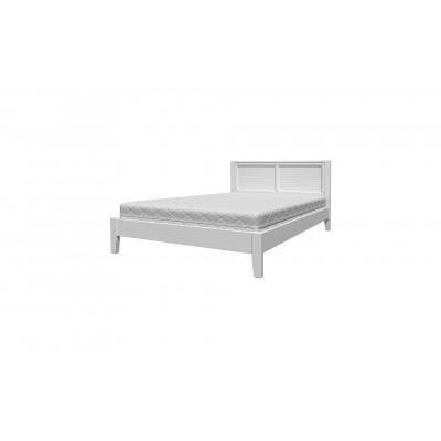 """Кровать """"Грация-3"""" белый античный от производителя Браво Мебель"""