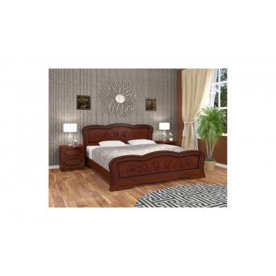 """Кровать """"Карина-8"""" орех"""