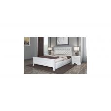 """Кровать """"Грация"""" (с ящиками)  античный белый"""