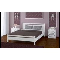 """Кровать """"Вероника-1"""" античный белый"""