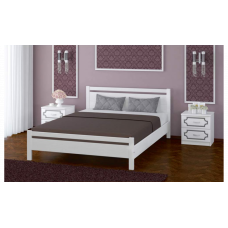 """Кровать """"Вероника-1"""" дуб белый"""