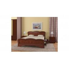 """Кровать """"Карина-8"""" (с ящиками) орех"""