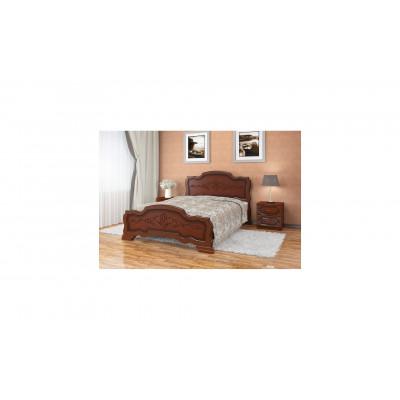 """Кровать """"Карина-17"""" орех"""