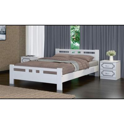 """Кровать """"Вероника-2"""" античный белый"""