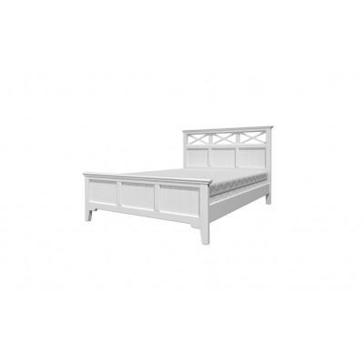 """Кровать """"Грация-5"""" античный белый от производителя Браво Мебель"""