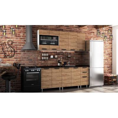 Кухонный гарнитур Крафт от производителя BTS мебель