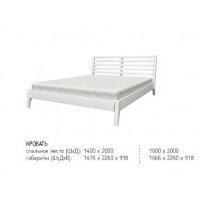 """Новинка в категории """"Кровати из массива"""", от лидера рынка по производству кроватей """"Bravo мебель""""."""