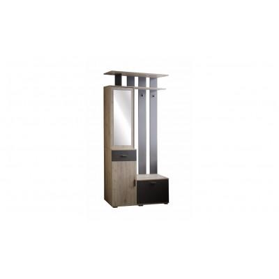 Имидж модуль №1 тумба с вешалкой от производителя Браво Мебель