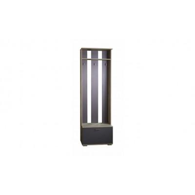 Имидж модуль №2 шкаф-вешалка от производителя Браво Мебель