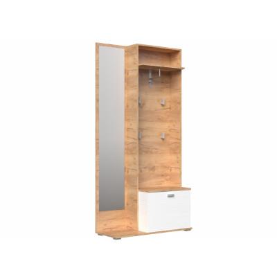 Прихожая Вегас шкаф-вешалка от производителя Браво Мебель