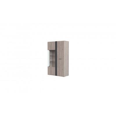Шкаф с витриной 2-дв. Бриз