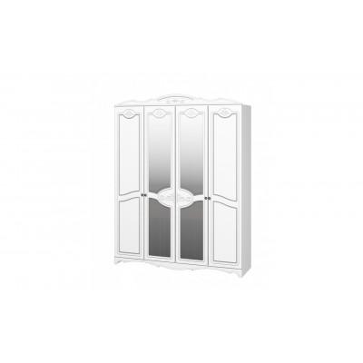 Шкаф ШР-4 Лотос Белый жемчуг