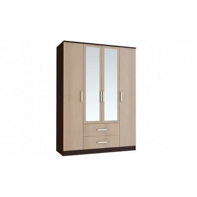 """Шкаф 4-х створчатый """"Фиеста"""" от производителя BTS мебель"""