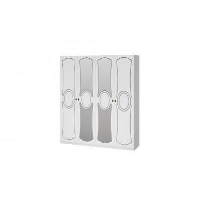 Шкаф ШР-4 Идиллия белый жемчуг