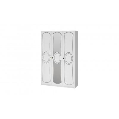 Шкаф ШР-3 Идиллия белый жемчуг