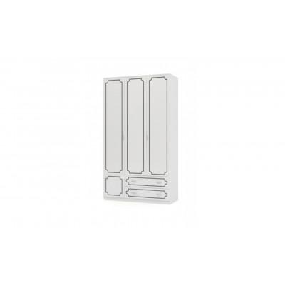 Шкаф ШР-3 Лакированный Белый жемчуг без зеркала