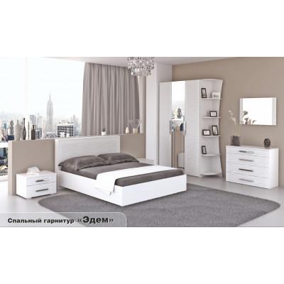 Спальный гарнитур Эдем белый