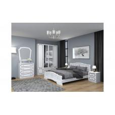 Спальный гарнитур Лакированный Белый жемчуг