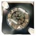Стол журнальный Часы черный от производителя Мебель из стекла