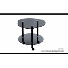 Стол журнальный Кофейный черный