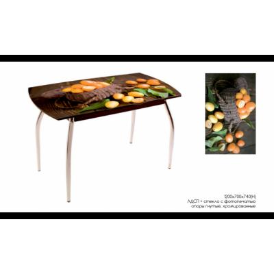 Стол обеденный ДП 77 от производителя Мебель из стекла