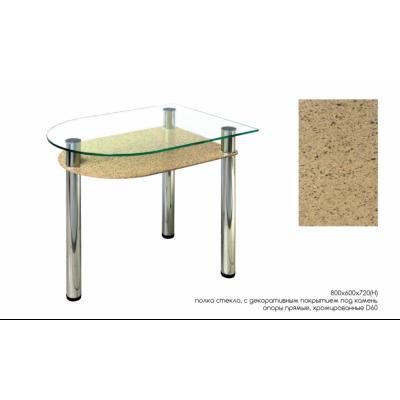 4.4 Бежевый камень овал от производителя Мебель из стекла