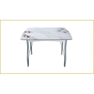 Стол обеденный Магнолия на мраморе от производителя BTS мебель